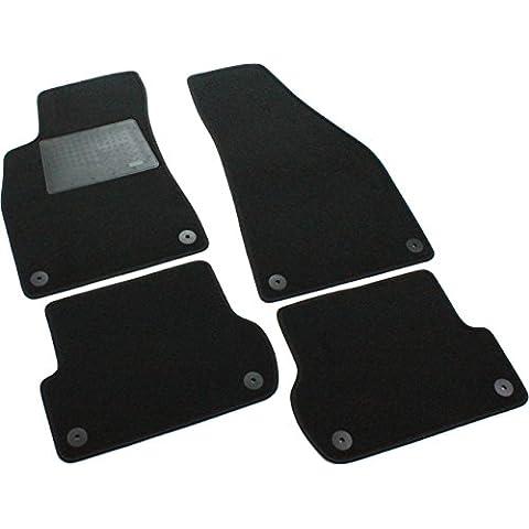 Il Tappeto Auto AMCL00205 - Juego de alfombrillas para coche (a medida), color negro