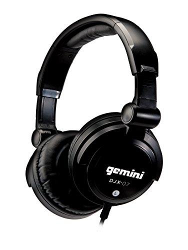 Gemini DJX-07 Professional Dj-Kopfhörer (3,5mm/6,35mm Klinkenstecker) (Dj Equipment Gemini)