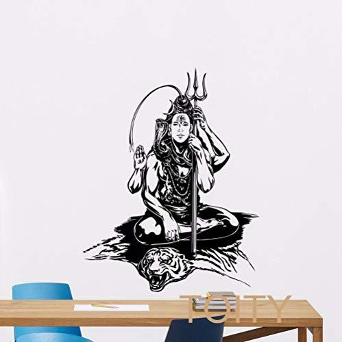 Wukongsun Tatuajes Pared India Arte Yoga Vinilo Adhesivo