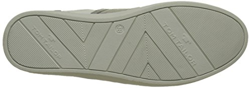 Tom Tailor - 2792601, Pantofole Donna Blanc (White Silver)