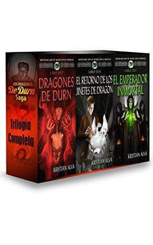 Descargar Libro Los Dragones de Durn Saga, Trilogía Completa: Los Dragones de Durn de Kristian Alva