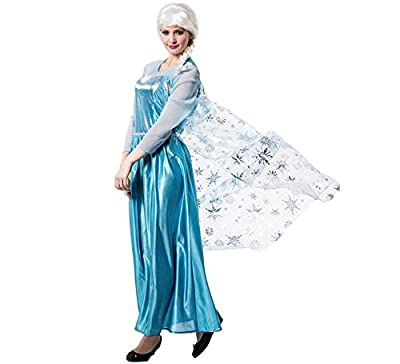 El Rey del Carnaval Disfraz de Princesa de Hielo para Mujer por El Rey del Carnaval