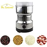 Torque Traders Electric Coffee Bean Grinder Mill Stainless Steel For Fine Coarse - B07HQGVHRX