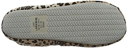 Multicolore Signore Ballo Donna Scarpette Bassa W animale Corallo Pantofole Isotoner Da Pom Hqn8ZFwH