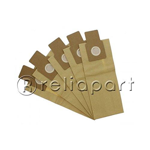 reliapart Papier Staubbeutel für Panasonic aufrecht Icon-Serie Staubsauger (5Stück)