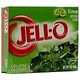 Jell-O Lime Gelatin Dessert 3 OZ (85g)