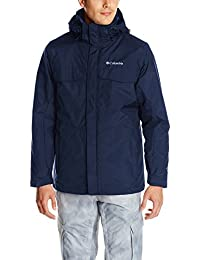 Columbia Men's vituperación insacular chaqueta, hombre, color Azul - azul marino, tamaño 2 X-grande
