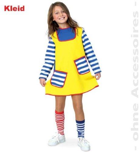 �re 116 Mädchen Kleid Fasching Kostüm Gr 104 - 152 ()