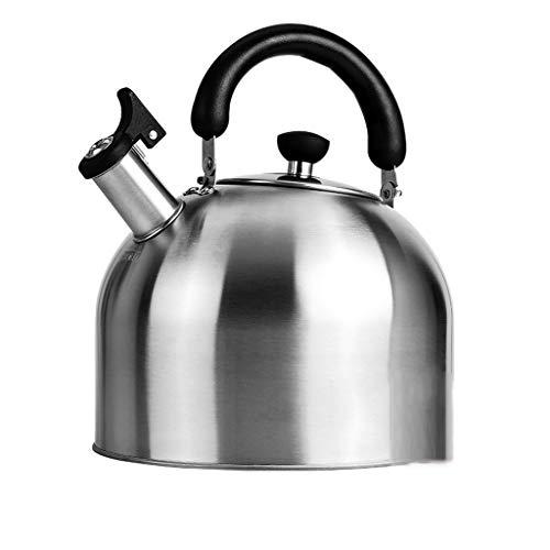 Bollitore caldaia a gas da cucina in acciaio inox 304 da cucina a induzione domestica a grande capacità fornello a induzione universale 3-6l whlong (dimensioni : 4l)