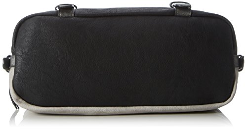 Tom Tailor Acc Damen Juna Schultertasche, 14 x 19 x 35 cm Mehrfarbig (Grau)
