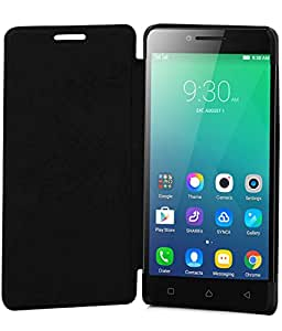 JKOBI Exclusive FLIP CASE COVER For LENOVO A6000 Plus-Black