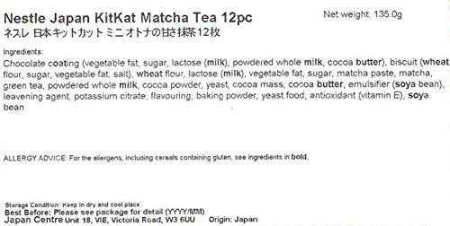 Nestle KitKat Matcha Green Tea Chocolate Bar 130 g (Pack of 2, Total 24 KitKats)