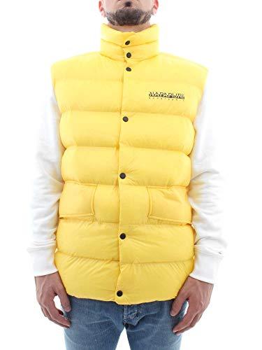 Napapijri N0YHU8Y36 Prendas de Abrigo Hombre Amarillo XS