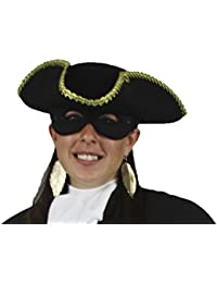 Sexy Black Dress Highway Woman Dick Turpin Wicked Lady Fancy Highwayman