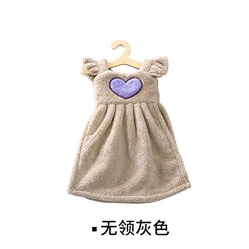 baffect Hanging asciugamano-Mini Gonna Principessa per bambini asciugamano panno cucina fazzoletto da appendere accessori per il bagno