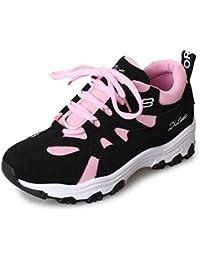 Las Mujeres Zapatillas de Plataforma con Cordones Zapatos Deportivos Casuales Primavera otoño Entrenadores Zapatos Pisos Zapatillas