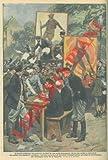 Incitati da una calda propaganda, giovani polacchi accorrono ad iscriversi volontari presso gli uffici di arruolamento.