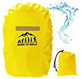 Ferocity Rucksack Regenschutz Regenschutzhülle für Schulranzen Regenhaube Regenhülle Backpack 35-55 L [070]