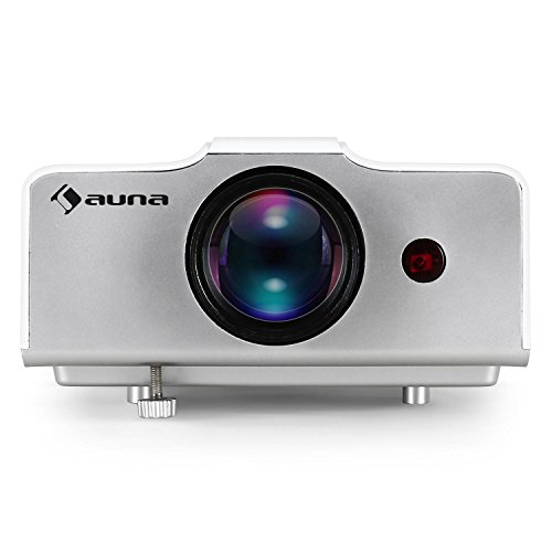 Deals For Auna EH3WS Home Cinema LED Projector HDMI Input for Modern Deviced Connection Optimal Image Size for Various Wall Distances Long-Life LED Lamp with Up to 20.000 Hours of Use (1300 ANSI Iumens, Component, Composite, VGA Inputs) White on Line