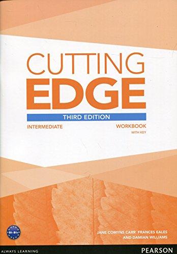Cutting Edge 3rd Edition Intermediate Workbook with Key por Sarah Cunningham
