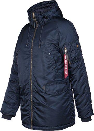 Alpha Industries Jacket N3-B PM Bleu