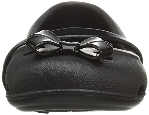 crocs Mädchen 204028 Closed-Toe Ballerinen Black