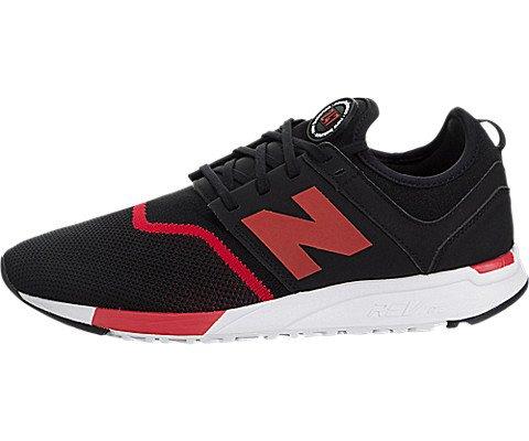 New Balance Hombres Negro/Rojo 247 Sport Zapatillas-UK 7  EU 41 Xo6TG8OlJ