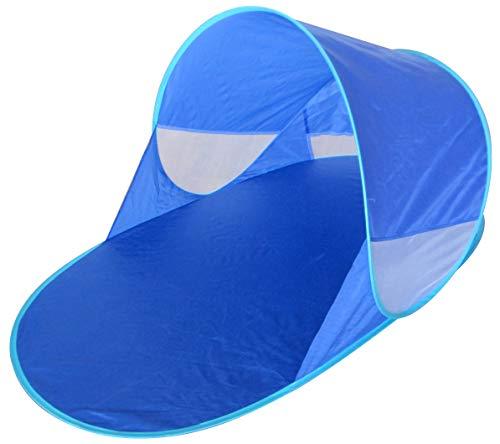 Strandmuschel Strand Sonnen Zelt Baby UND Kinder, 100% OPTIMALER UV Schutz Pop Up Wurf strandzelt, Beach, babyzelt, Camping (Babys Sonne)