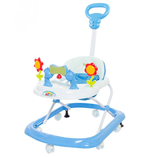 Baybee KENNY Walker cum Rocker | Music & Light Function With Parant Control Push Bar And Stopper, Easy to Fold, Fun Toys & Activities for Baby (Blue)  available at amazon for Rs.1799