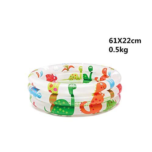 Piscina gonfiabile per bambini piccoli di dinosauro, casa per bambini può spruzzare acqua piscina per bambini piscina per addensare