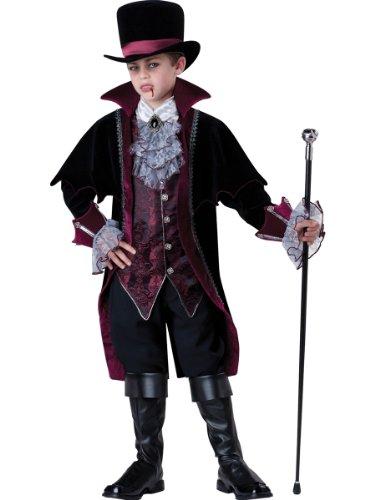 Versailles Von Vampir Kostüm - Gentleman Vampir von Versailles Kinderkostüm - Gr. 14 / 152-154cm