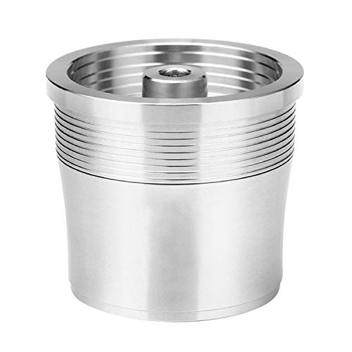 Gosear Filtro Reutilizable Recargable de la cápsula del café del Acero Inoxidable Compatible con el Fabricante de la máquina de la cápsula del café de illy