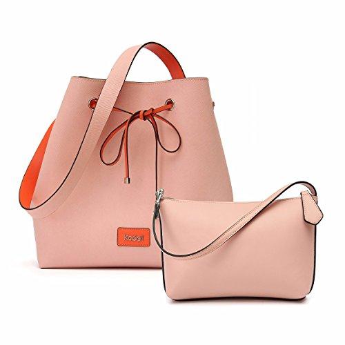 Kadell coulisse Bag benna per la borsa delle donne PU borsa in pelle Tote Cinch (Compagno Occhiali Da Sole)