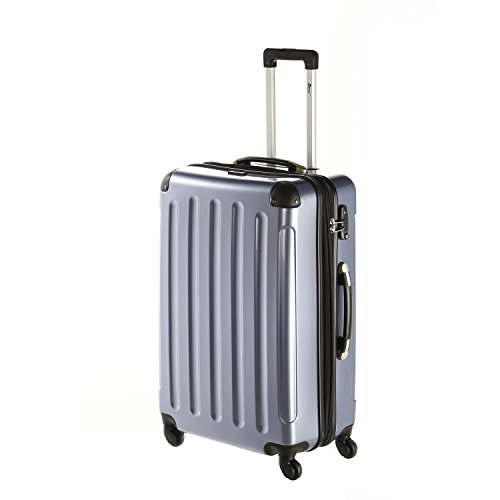 IMEX Hartschalen Koffer Trolley in BLAU mit TSA-Schloss Größe XLARGE