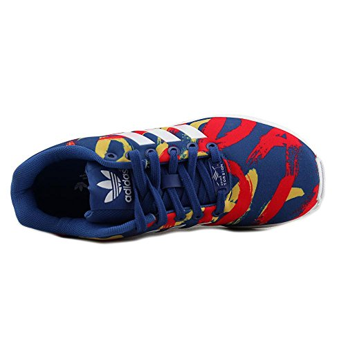 Adidas Zx Flux W blu / bianco / rosso S77313 (dimensioni: 7.5) Blue