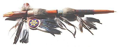 Fair-Trade-Friedenspfeife Hand geschnitzt Replica Native American Indian Adler (Hand Geschnitzt Adler)