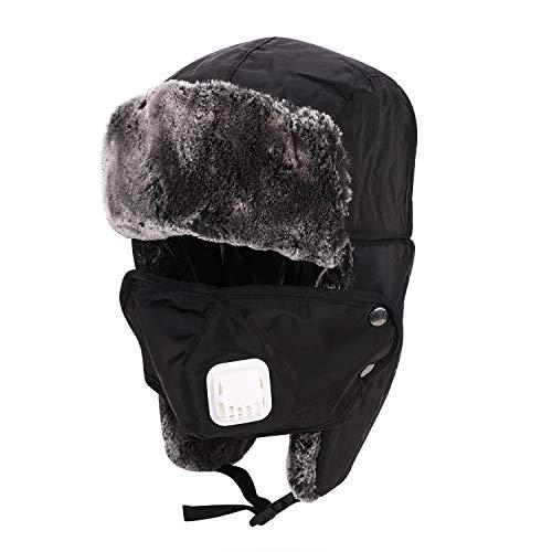 Pasamontañas esquí unisex grueso cálido resistente