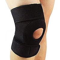 Knie Schiene Stütze Verstellbar Neopren mit Basis Offene Patella Stabilisator Kniescheibe Unterstützung und Seitliche... preisvergleich bei billige-tabletten.eu