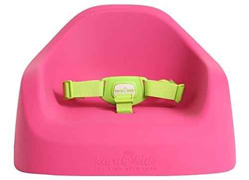 Koru Kids Toddler Booster - Sitzerhöhung auf Stühlen für Baby Kleinkinder Kinder ab 12 Monate bis etwa 6 Jahre Boostersitz Kindersitz Stuhlsitz (Fuchsia)