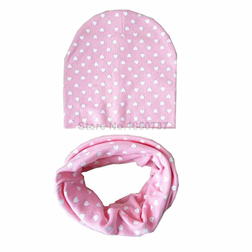 bec0620cdf6 25% OFF on Generic Pink baby hat scarf