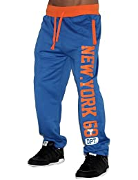 NEW YORK Herren Sporthose Jogginghose Trainingshose Traningsanzug Sportanzug