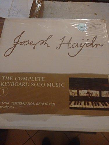 Haydn: Complete Keyboard Solo Music vol. 1 - 19 Early Sonatas 1-19 - 4 LP VINYLS NEW HUNGAROTON 11614/7