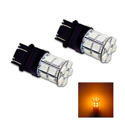 PA 2/pcs 3157/3156/3457/A 20/SMD LED Auto Feu stop//feu arri/ère//Turn Signal ampoules Blue-12/V