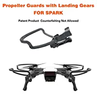 Prevently New Propellers Guards+Extend Landing Legs Gear Kit Protection for DJI SPARK Drone RC