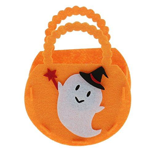 FLAMEER Halloween Kinder Candy Bag Party Supplies Süßes Oder Saures Beute Goody Bags 3 Stü - # - Süße Candy Bar Kostüm