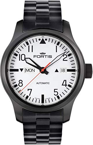 Fortis B-42 Nocturnal 655.18.12.M Automatic Mens Watch Excellent readability