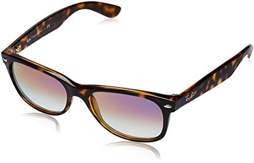 03542c35b541 Ray-Ban Unisex's 0RB2132 710/S5 55 Sunglasses, Havana/Clear Gradient Violet,
