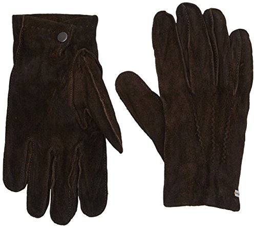 BOSS Orange Herren Handschuhe Gilderoy, Braun (Dark Brown 201), 8.5