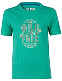 McKinley Kinder Wander Freizeit Funktions T-Shirt Zaba mit UV-Schutz gelb