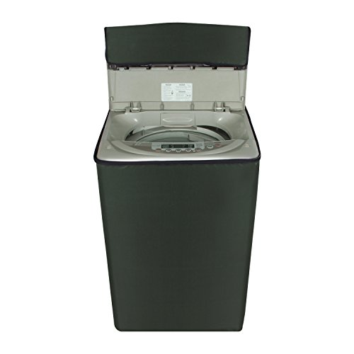 Glassiano Coffee Colored Waterproof & Dustproof Washing Machine Cover For...